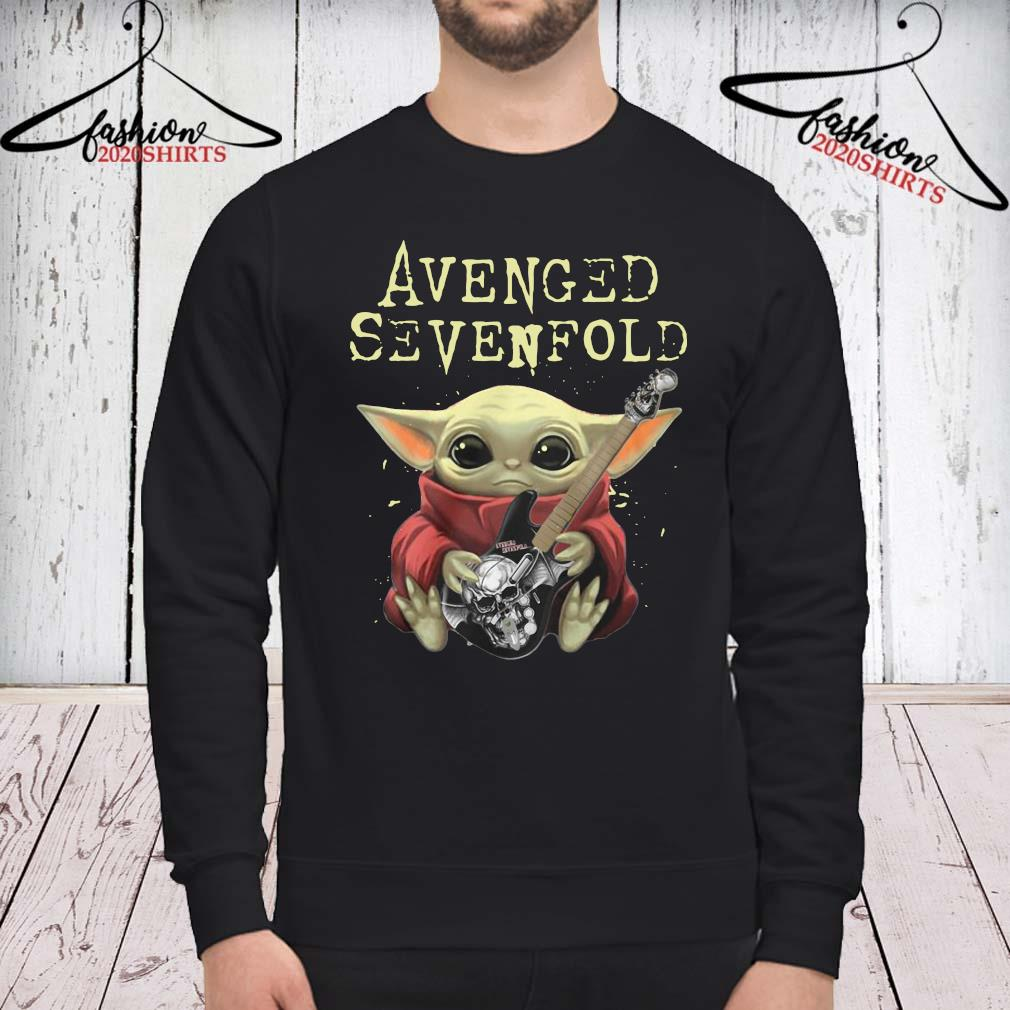 Baby Yoda Hug Guitar Avenged Sevenfold Shirt sweatshirt