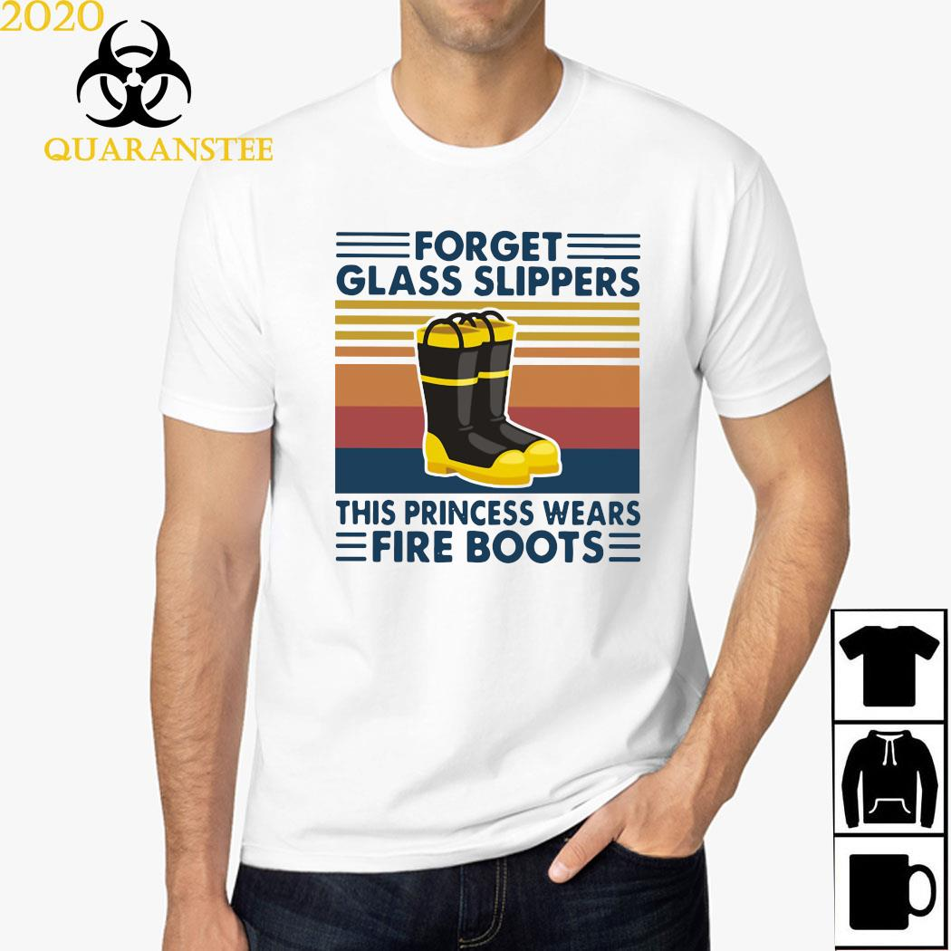 Forget Glass Slippers This Princess Wears Fire Boots Vintage Shirt