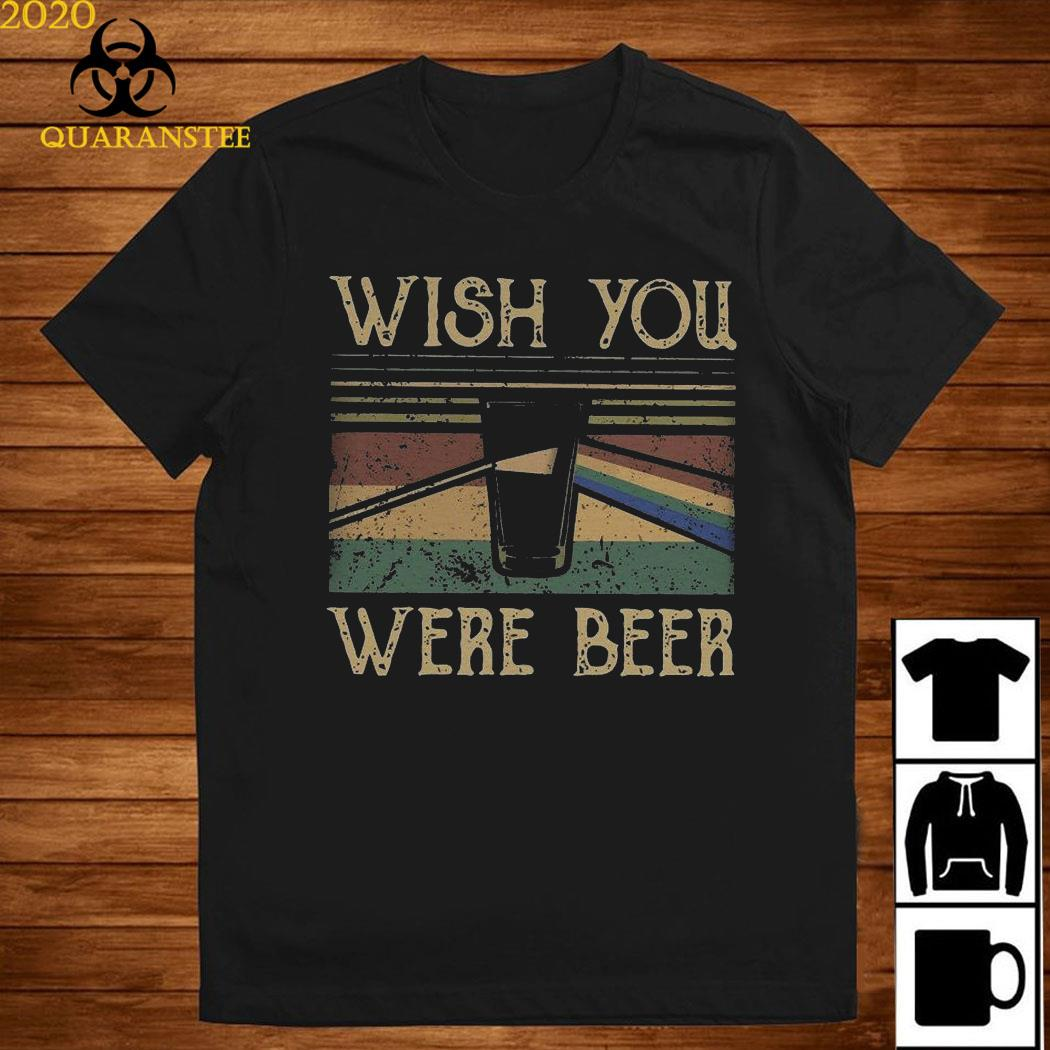 Pink Floyd Wish You Were Beer Vintage Shirt