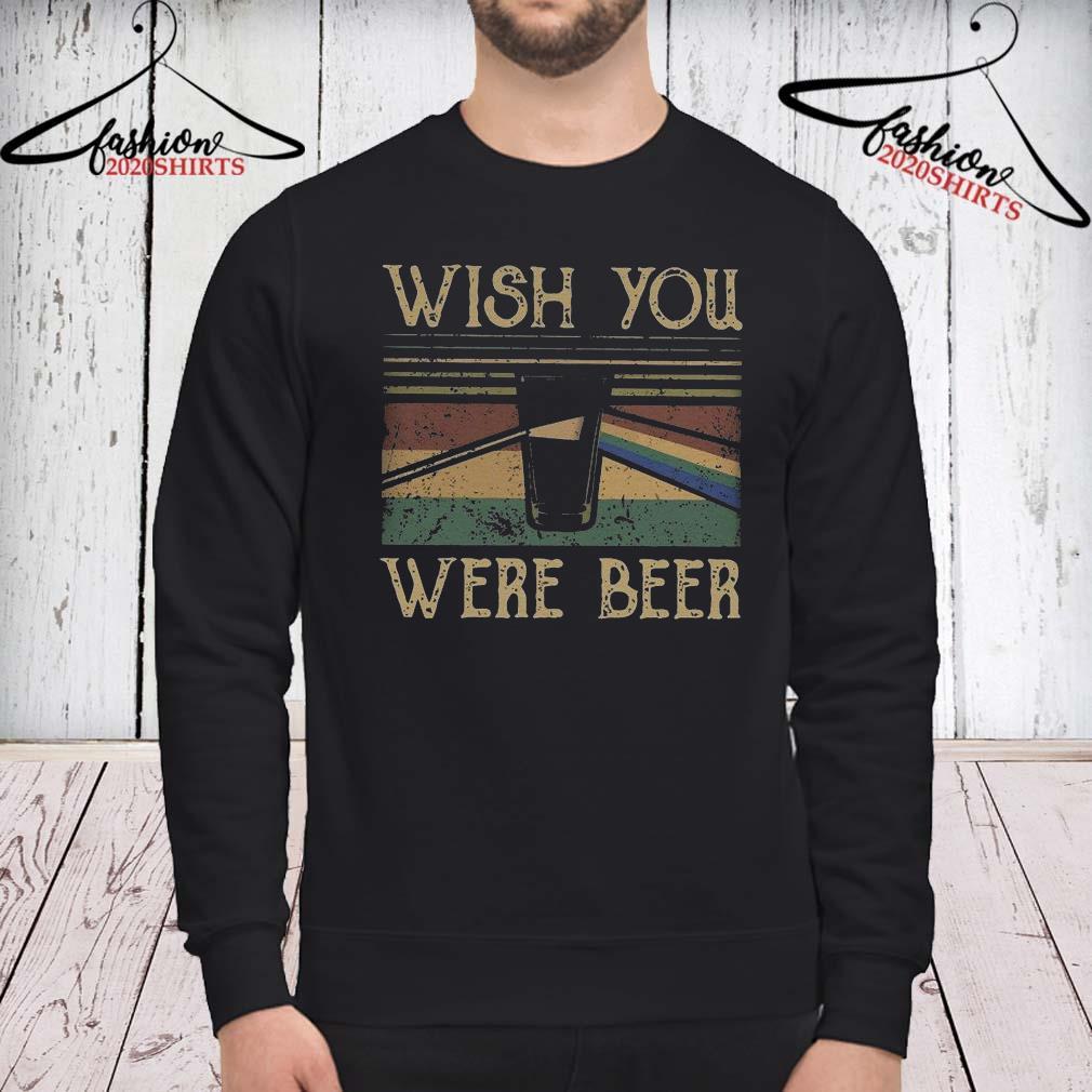 Pink Floyd Wish You Were Beer Vintage Shirt sweatshirt