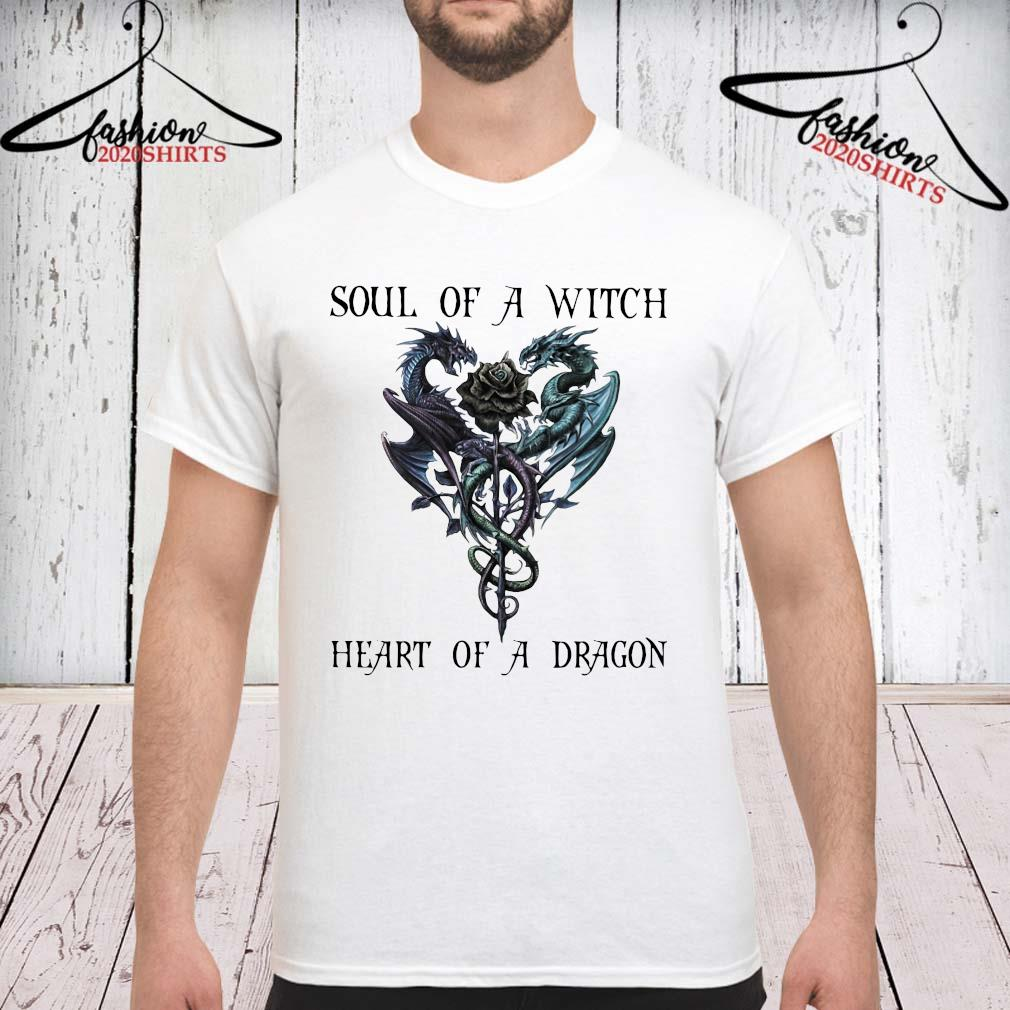 Soul Of A Witch Heart Of A Dragon Shirt unisex