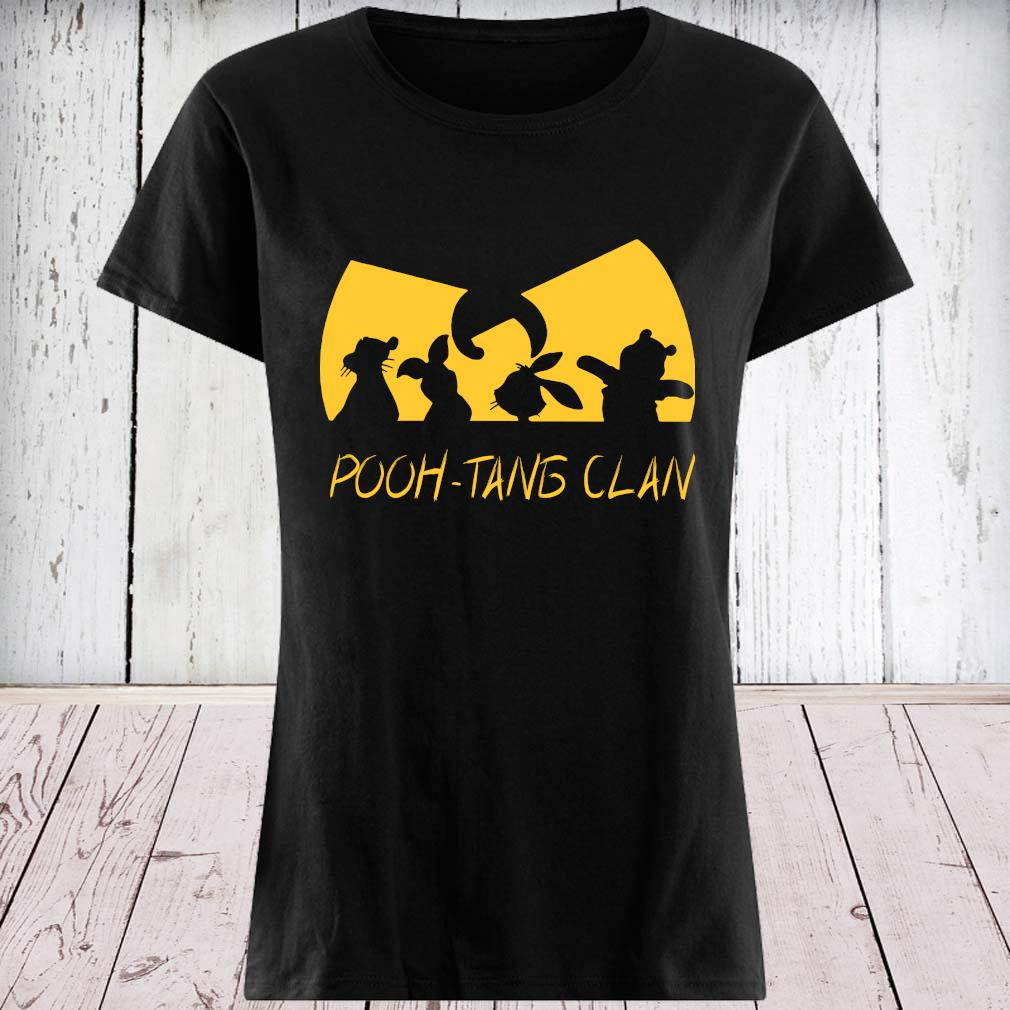 Wu-tang Clan Pooh-tang Clan Shirt ladies tee