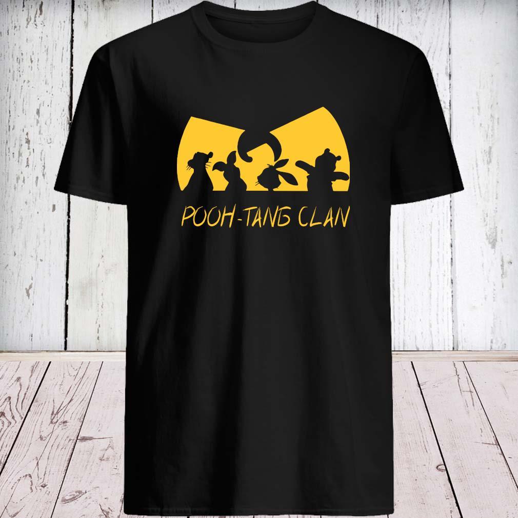 Wu-tang Clan Pooh-tang Clan Shirt unisex
