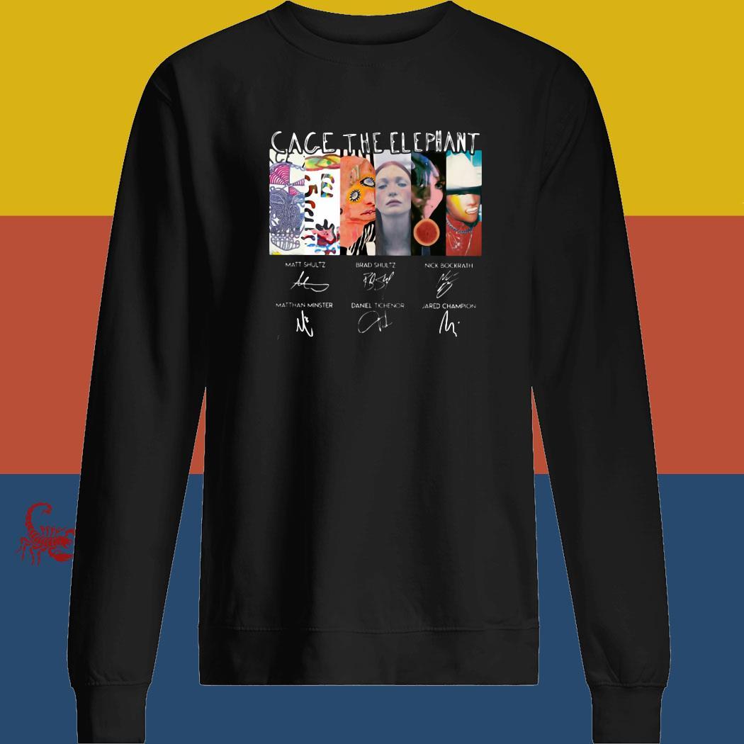 Cage The Elephant Signatures Shirt sweatshirt
