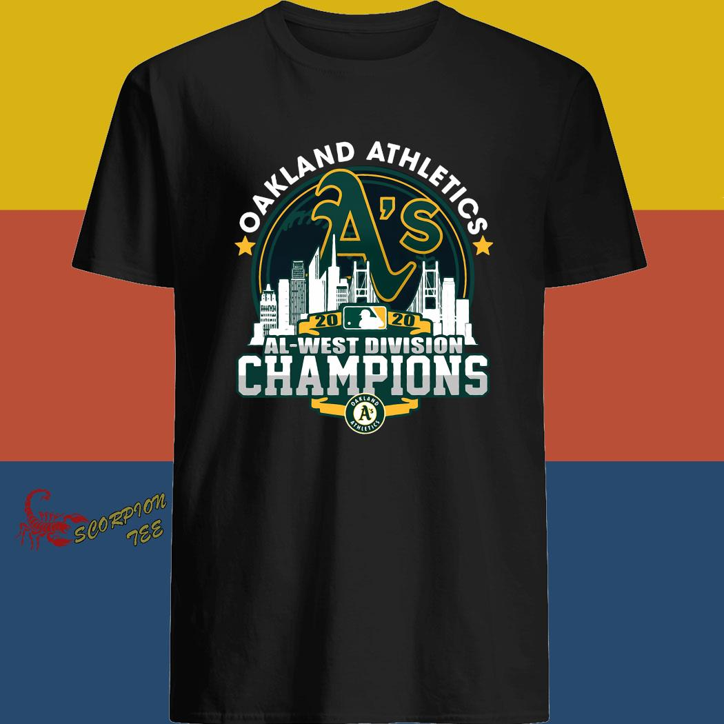 Oakland Athletics 2020 Al West Division Champion Shirt