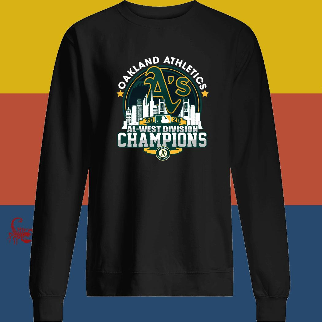 Oakland Athletics 2020 Al West Division Champion Shirt sweatshirt