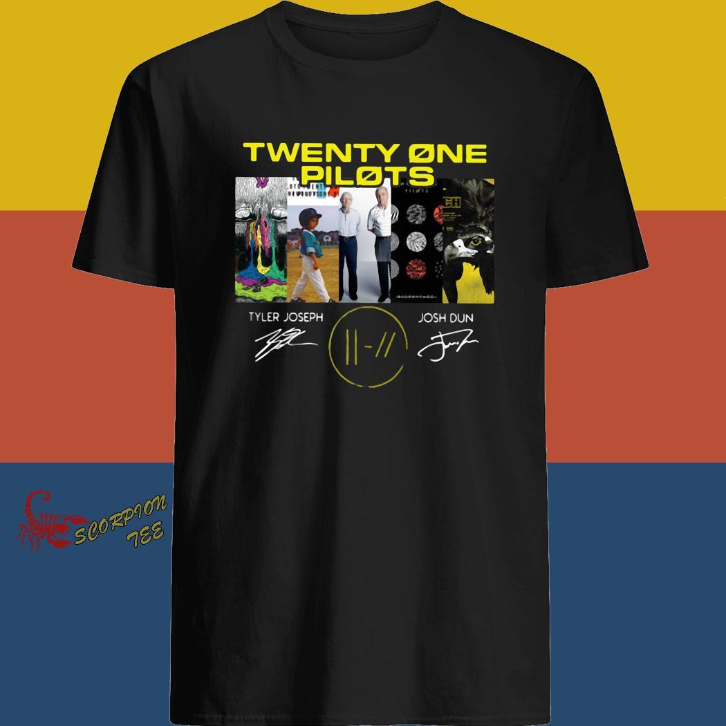 Twenty One Pilots Signatures Shirt