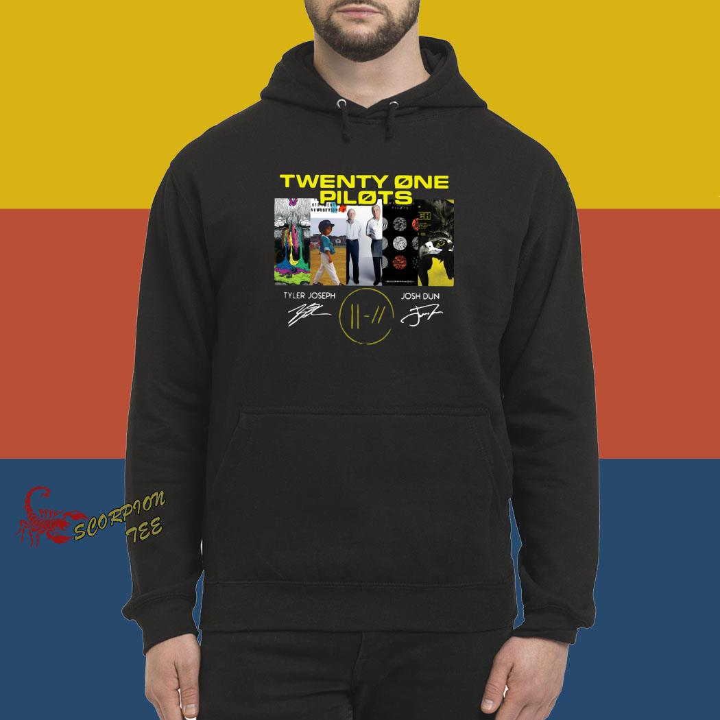 Twenty One Pilots Signatures Shirt hoodie