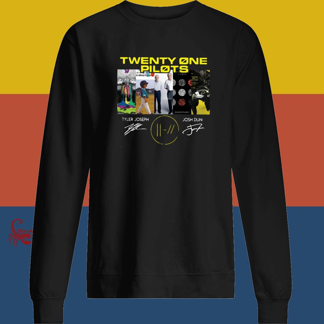 Twenty One Pilots Signatures Shirt sweatshirt