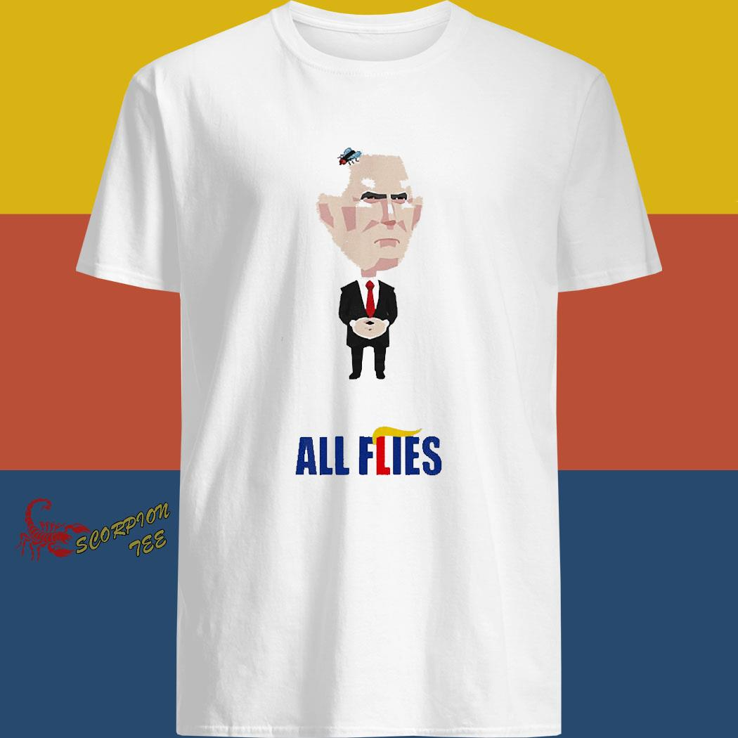 All Flies Harris Pence Fly Debate Biden 2020 Trump Lies Shirt