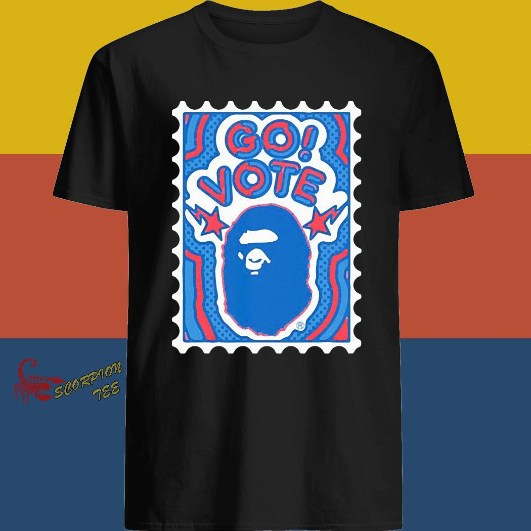 Bape Go Vote Shirt