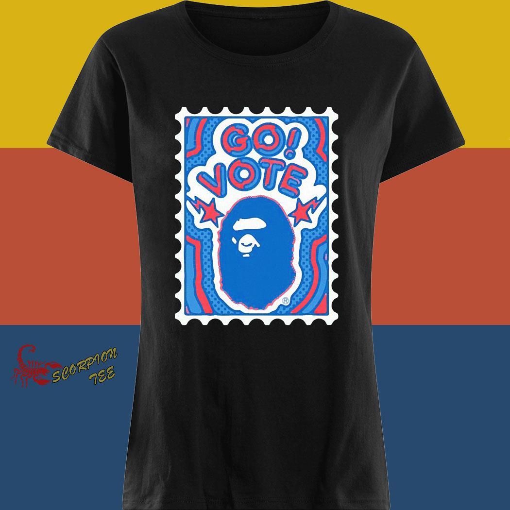 Bape Go Vote Shirt ladies tee
