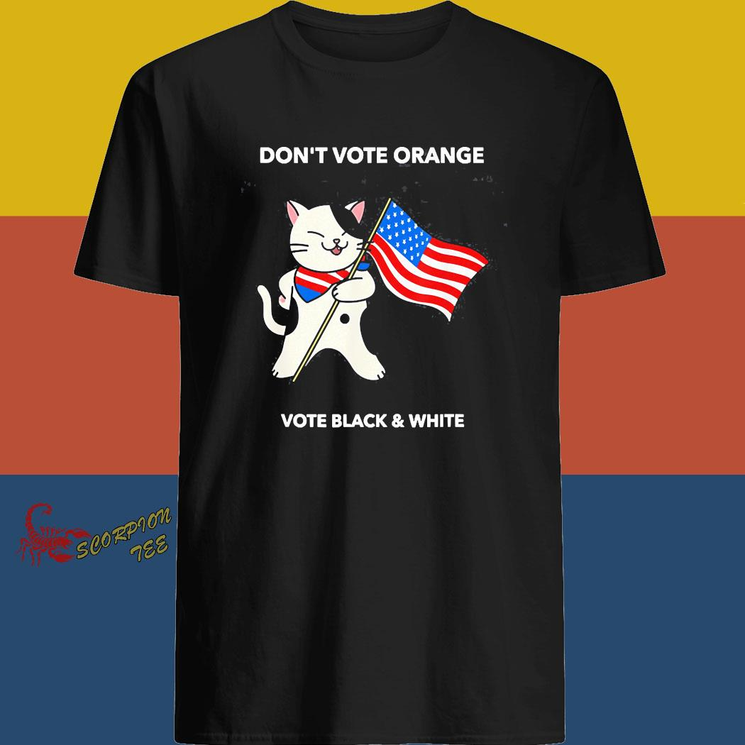 Cat President Don't Vote Orange No Trump Election 2020 Shirt