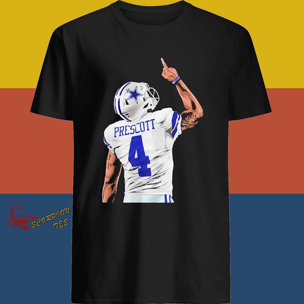 DP4 Dalla Cowboys Dak Prescott 2020 Shirt