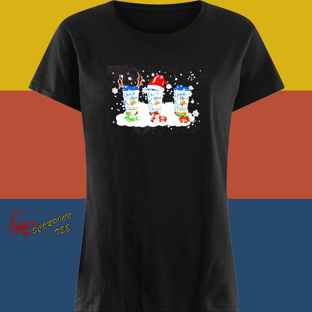 Dutch Bros Coffee Christmas Shirt ladies tee