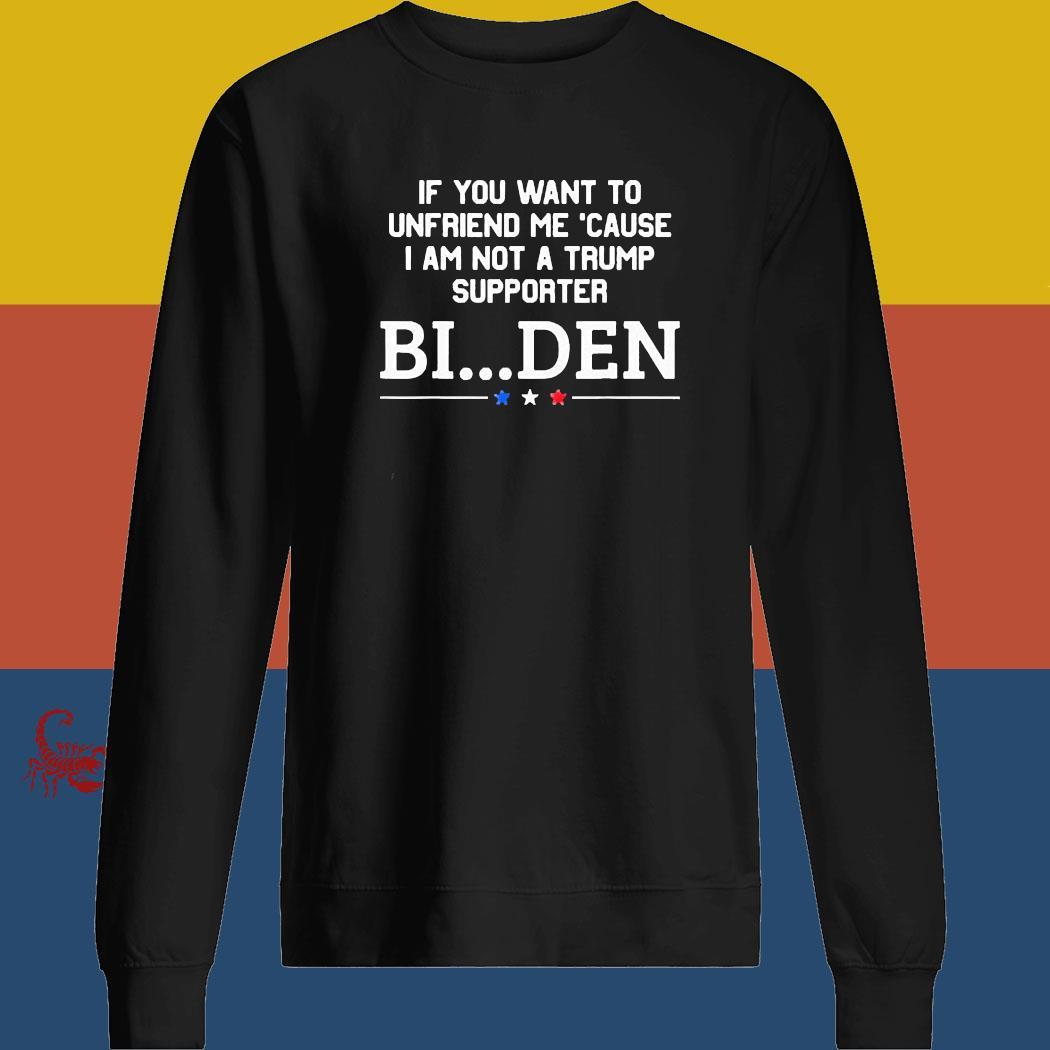 If You Want To Unfriend Me BinDen 2020 Shirt sweatshirt