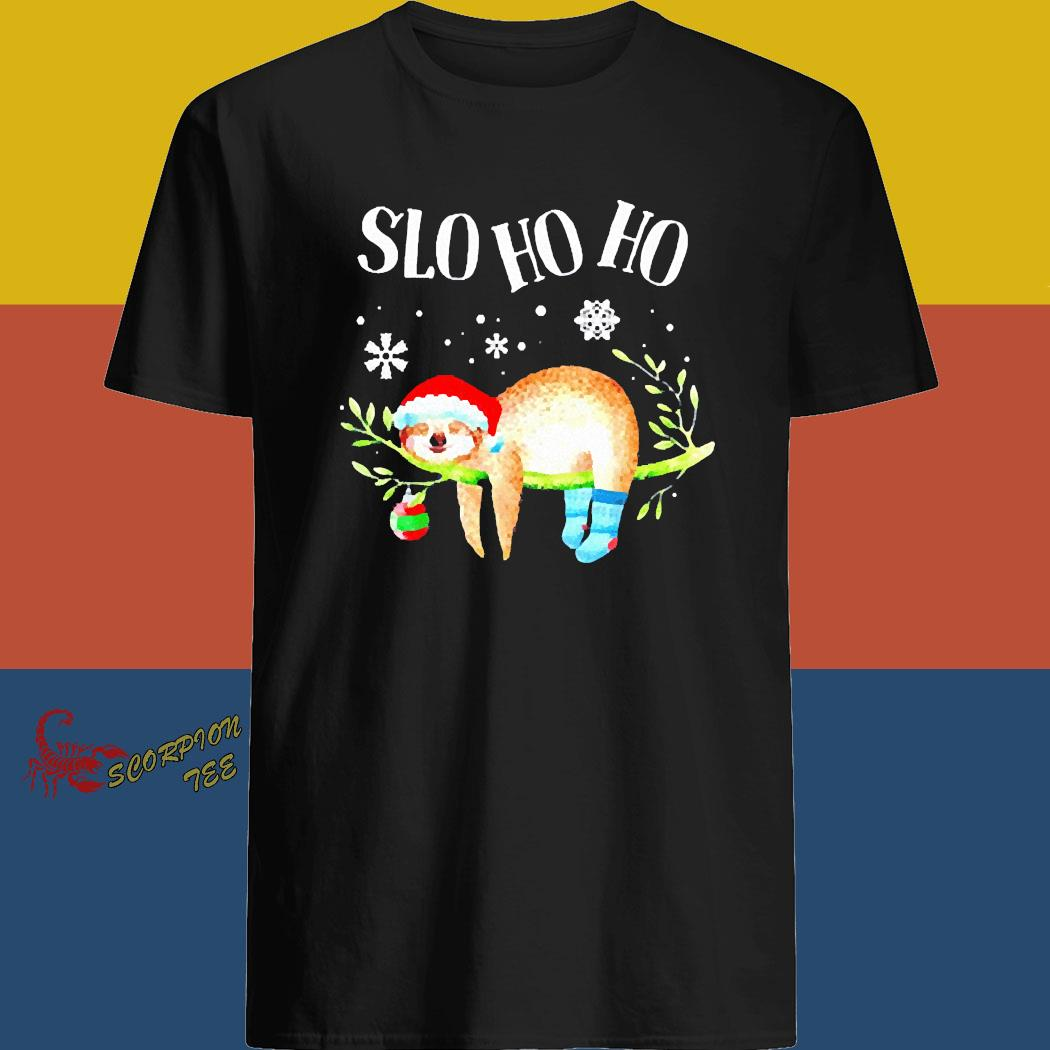 Sloth Slo Ho Ho Christmas 2020 Shirt
