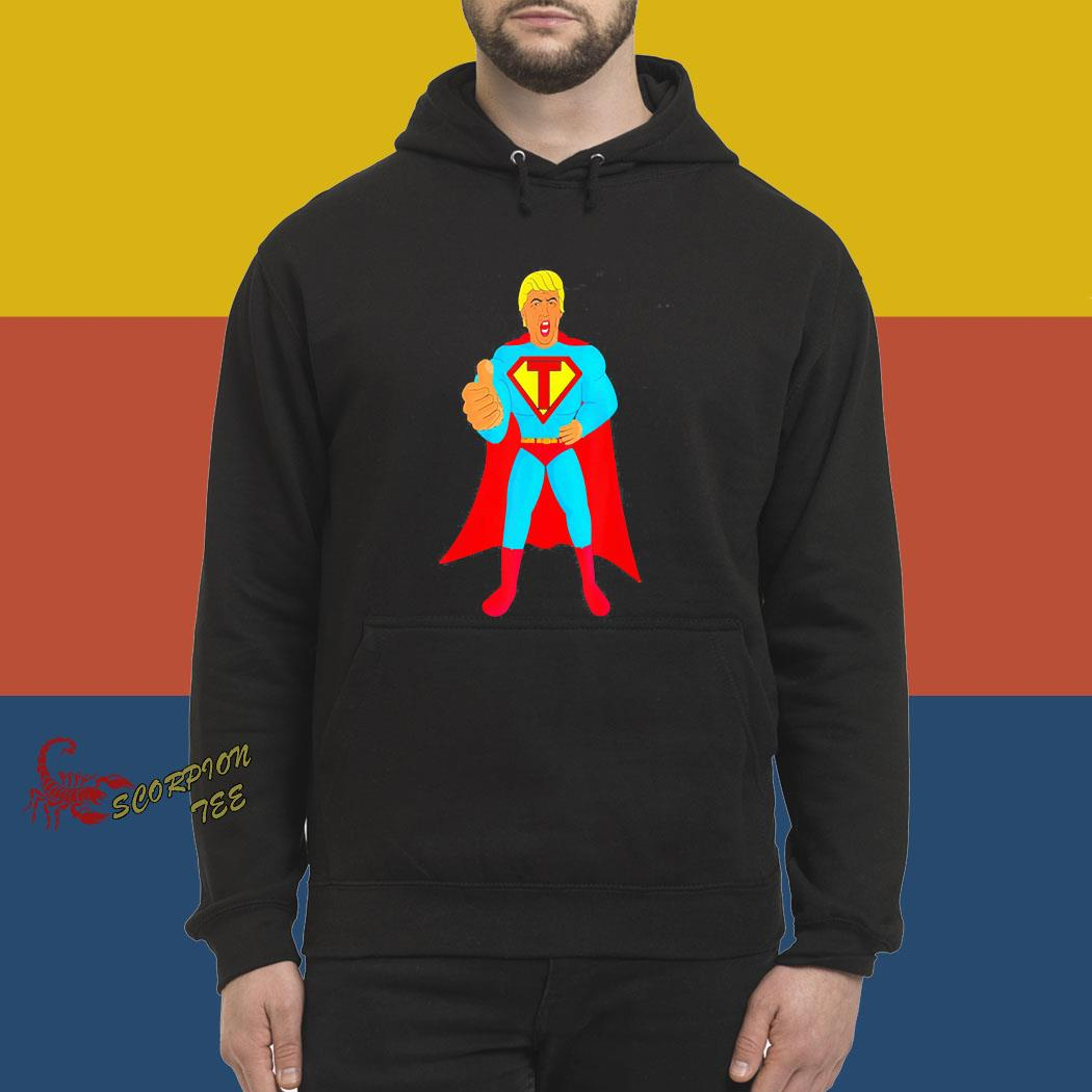 Trumpman 2020 Funny Super Gift Election Presidential 2020 Shirt hoodie