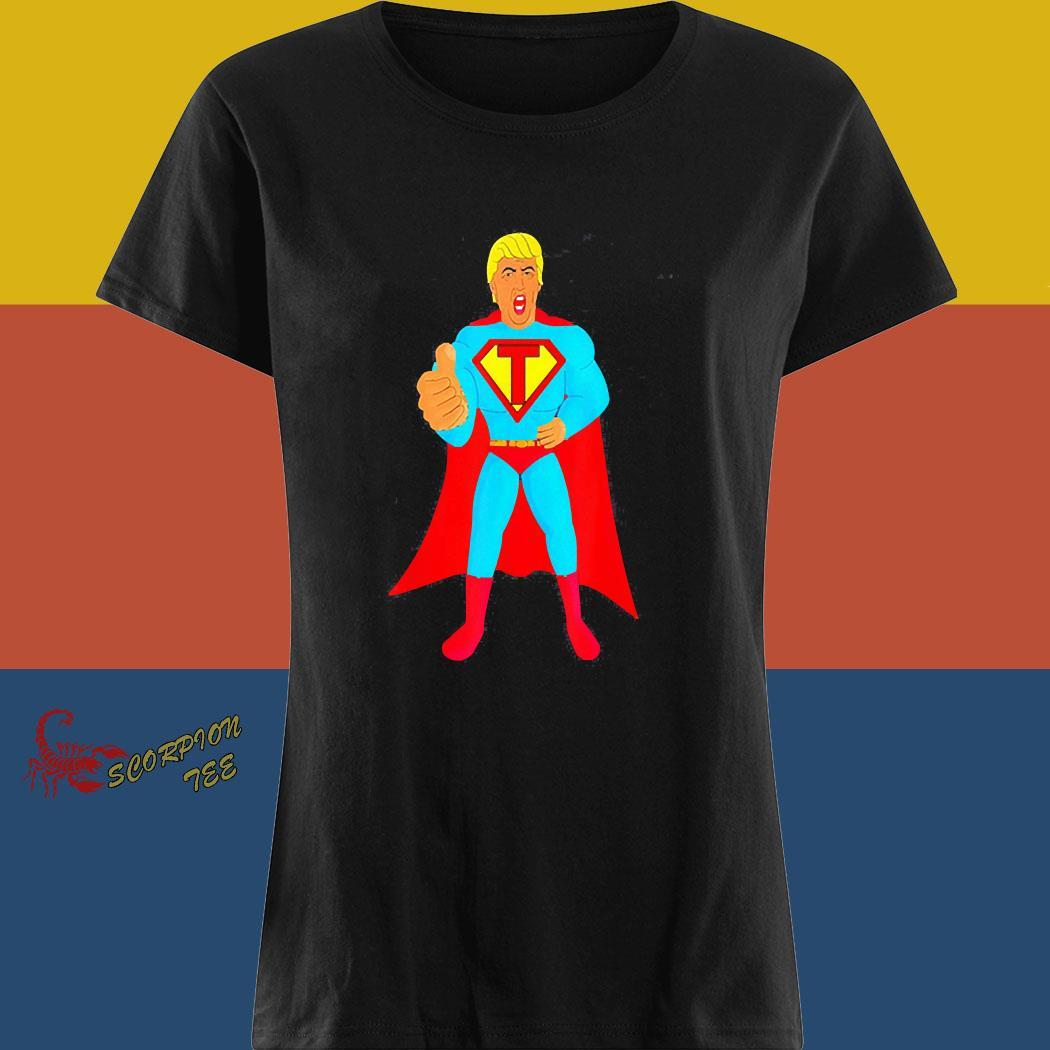 Trumpman 2020 Funny Super Gift Election Presidential 2020 Shirt ladies tee