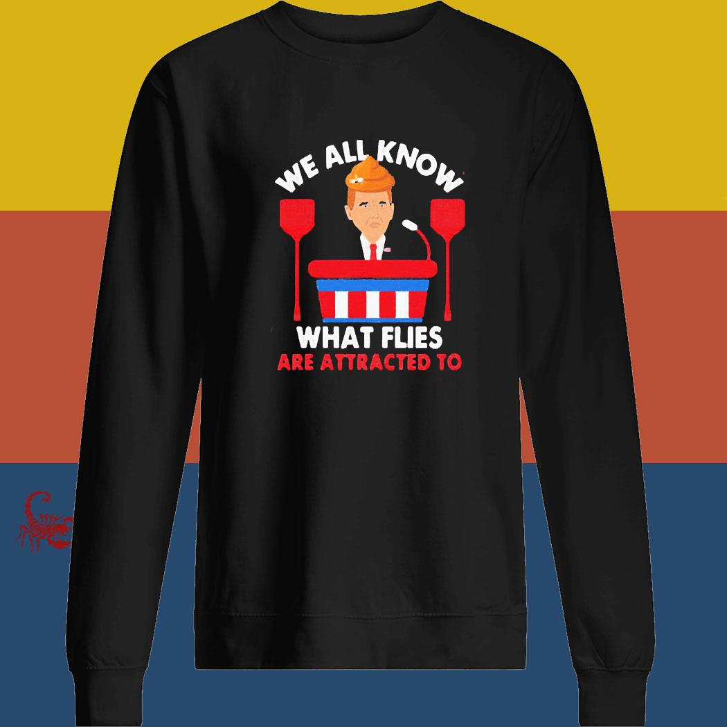 We All Know What Flies Are Attracted To Funny Pence 2020 Vp Debate Shirt sweatshirt
