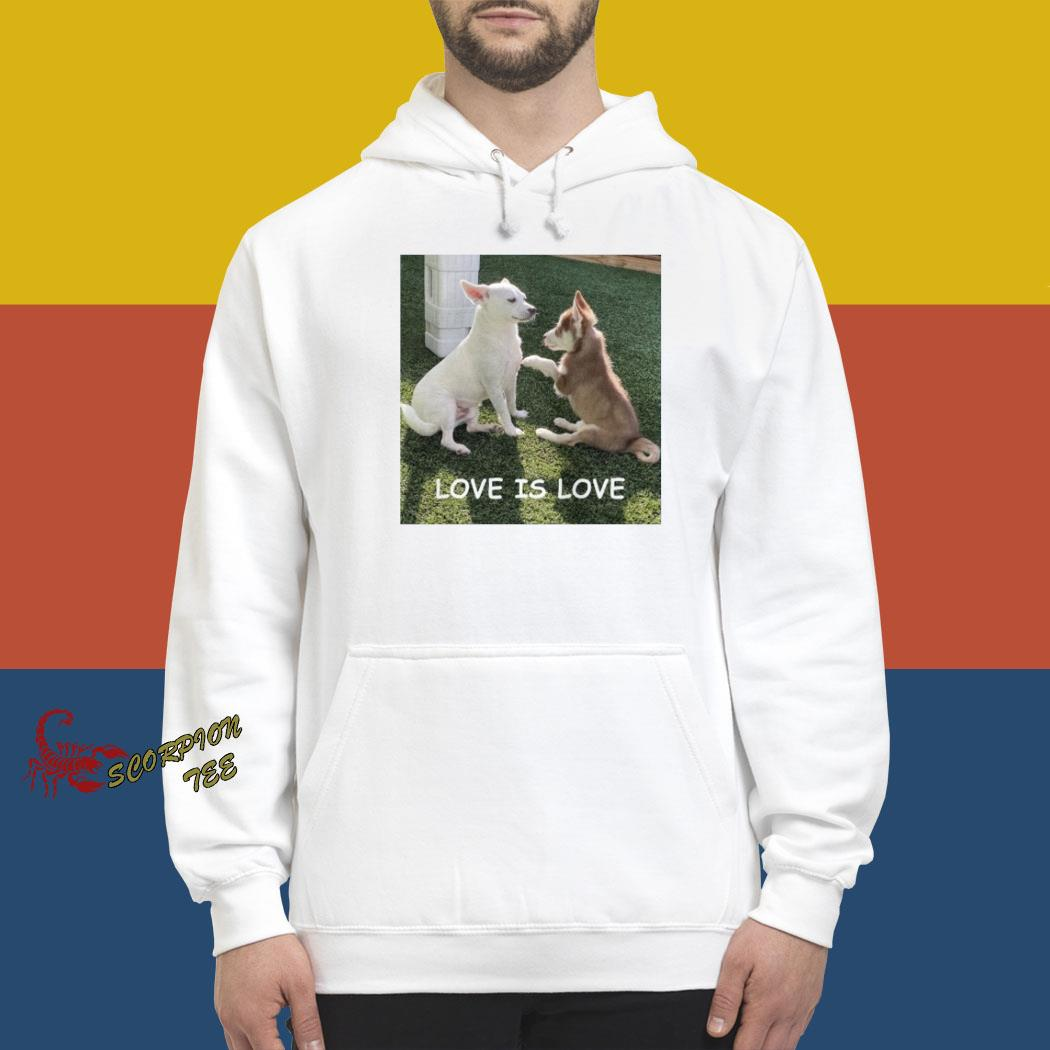 Bryson And Balto Love Is Love Shirt hoodie