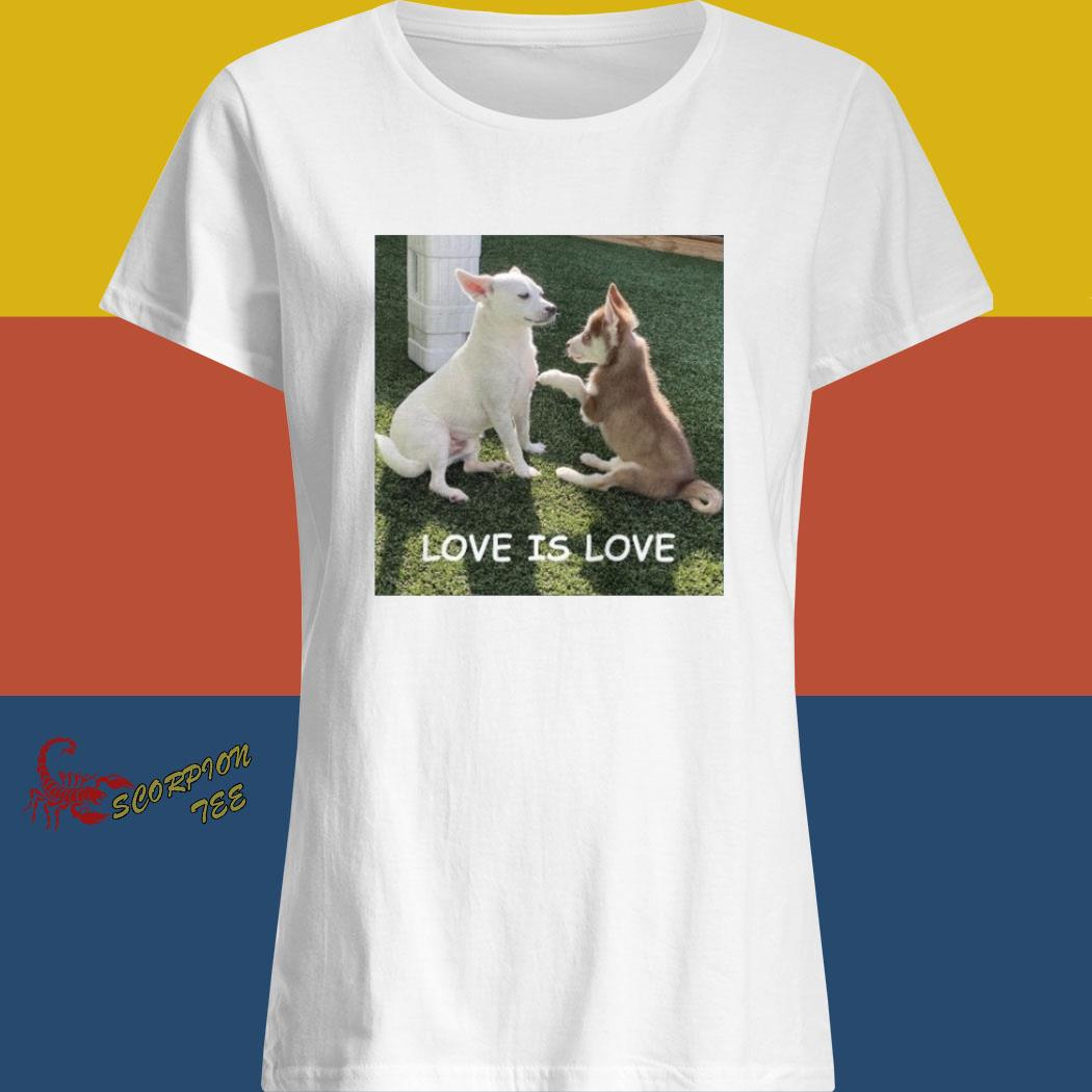 Bryson And Balto Love Is Love Shirt ladies shirt