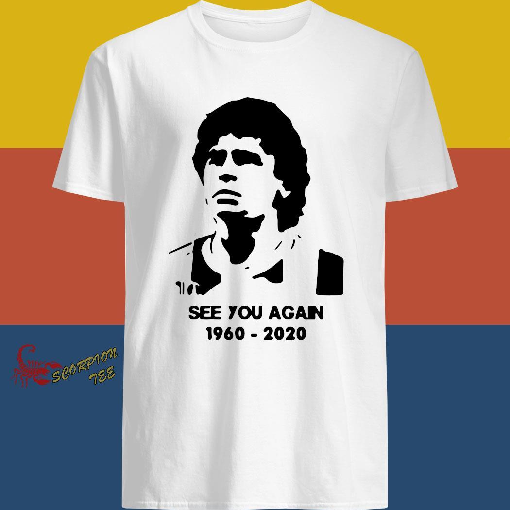 Diego Maradona See You Again 1960 2020 Shirt