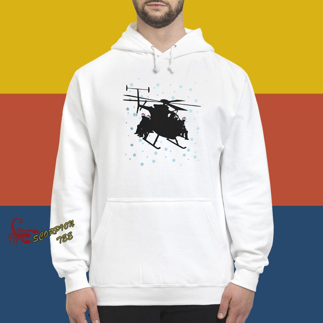 Night Stalkers Helicopter Christmas Sweater hoodie