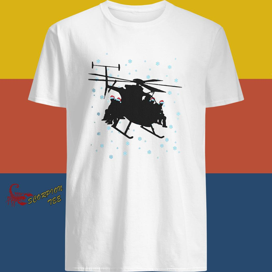 Night Stalkers Helicopter Christmas Sweater