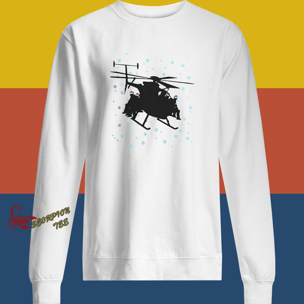 Night Stalkers Helicopter Christmas Sweater sweatshirt