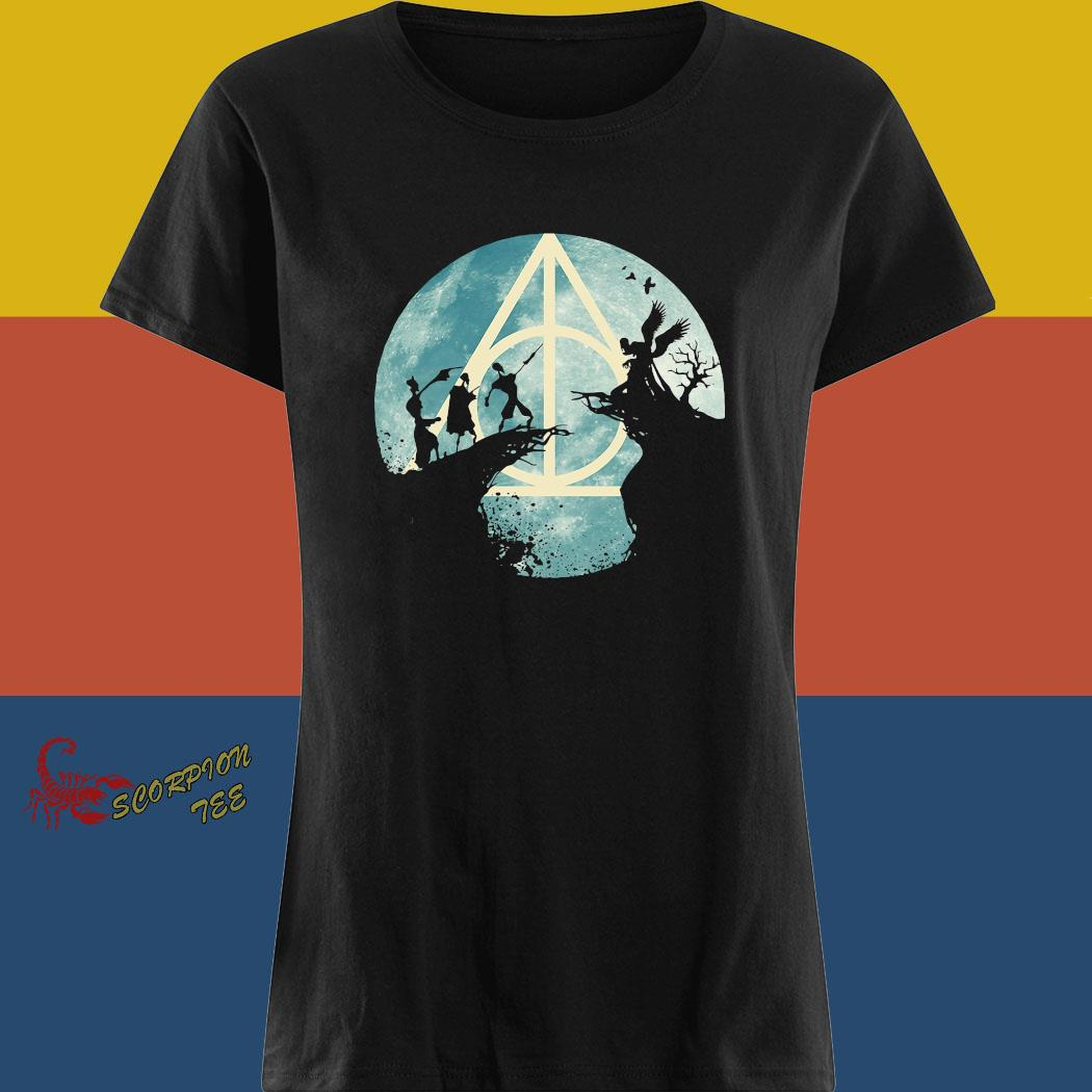 Tale Of Three Brothers Hogwarts Shirt ladies tee