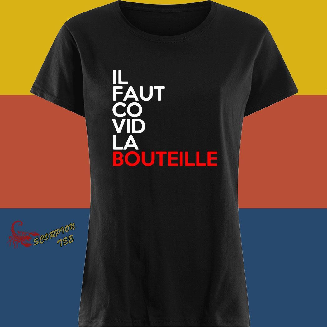 Il Faut Co Vid La Bouteille Shirt ladies tee