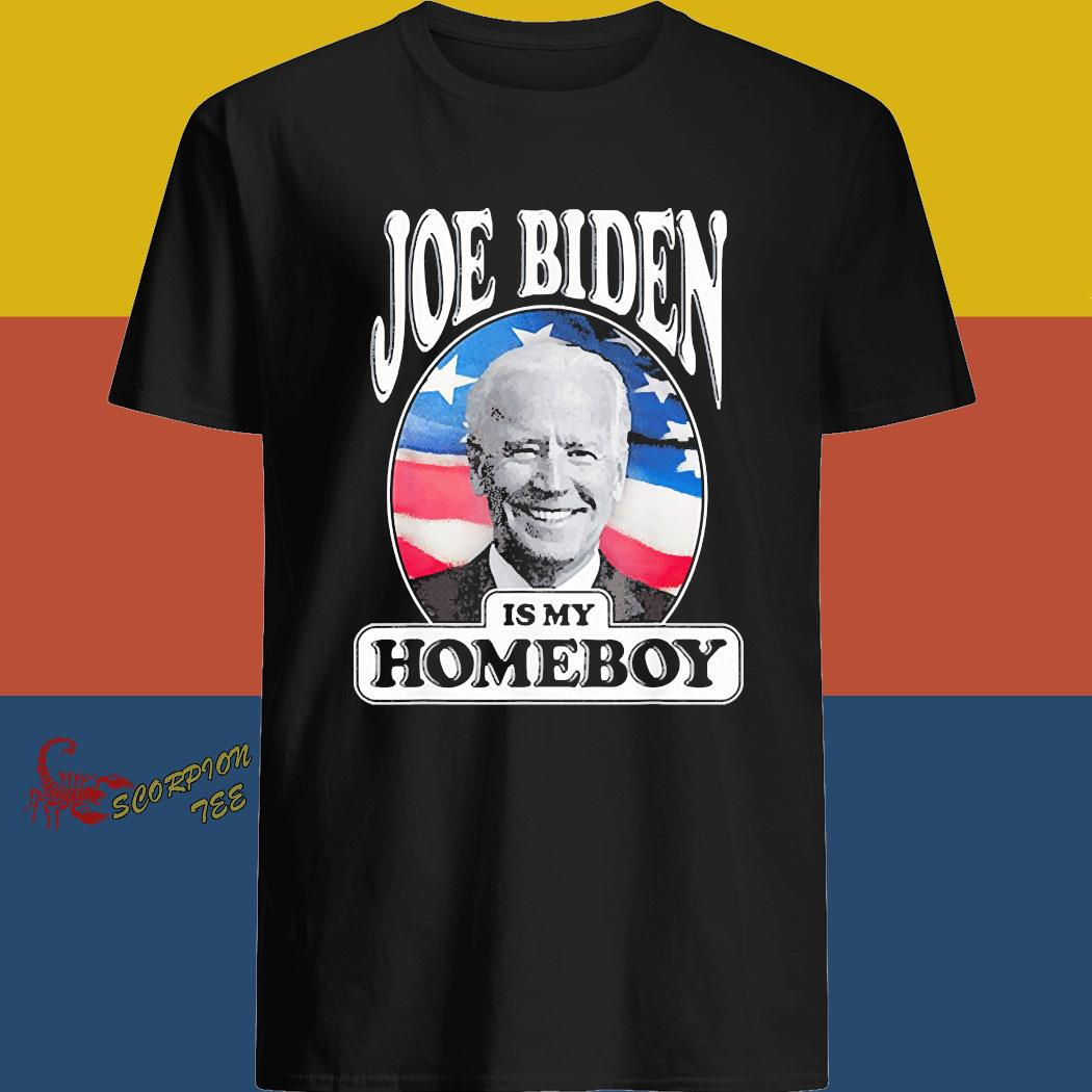 XL M L Biden is my Homeboy Short Sleeve Unisex T-Shirt S