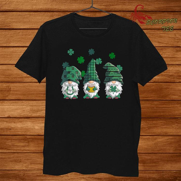 St Patricks Day Women Hooded Sweatshirt Cute Gnomes Shamrock Beer Cheers Graphic Long Sleeve Tunic Tops with Pocket